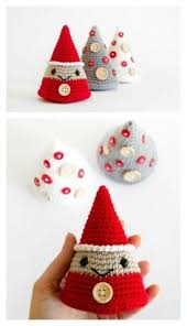 Free Christmas Decorations Diy Crochet Christmas Ornament Free Patterns Crochet Crochet