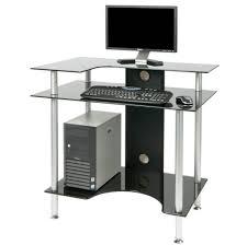 Small Oak Corner Computer Desk by Small Black Corner Desk Brown Varnished Oak Corner Computer Desk