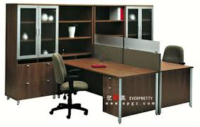 T Shape Desk Modern T Shape Office Furniture Executive Desk For Two Person