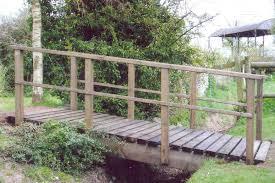 backyard bridges decor beautiful garden landscape using garden bridges ideas