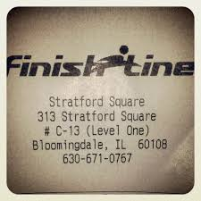 Bloomingdale Illinois Map by Finish Line Sports Wear 313 Stratford Square Mall