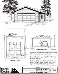 how to build 2 car garage plans pdf plans two car garage plan 572 6 22 x 26 by behm design garage plans by