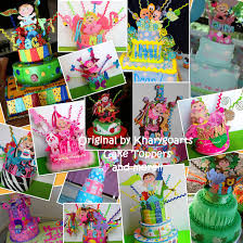 babies and pets birthday cake toppers from kharygoarts www