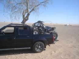 nissan frontier y pipe mod atv in bed of truck page 2 nissan frontier forum