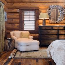photos and tips on decorating in rustic style modern log cabin bedroom