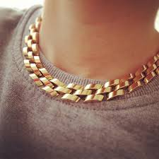 link choker necklace images Gold link choker necklace necklace wallpaper jpg