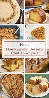 best thanksgiving desserts bake or