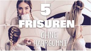 Hochsteckfrisurenen Ohne Haargummi by 5 Easy Notfall Frisuren Ohne Haargummi Perfekt Für Schule