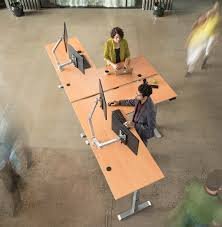 L Shaped Adjustable Height Desk by Adjustable Height Standing Desks And Accessories Multitable