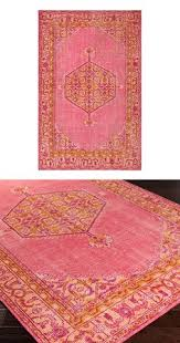 Raspberry Pink Rug Lali Printed Rug Area Rugs Awesome Stuff And For The Home