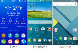 tizen vs android tizen versus android in pictures ars technica mobile