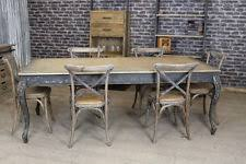 Distressed Dining Table EBay - Distressed kitchen tables