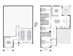 split level homes mcdonald jones bayview floor plan rhs 2546x1900