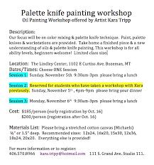 workshop info