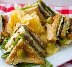 Salt and Peppers Club Sandwich