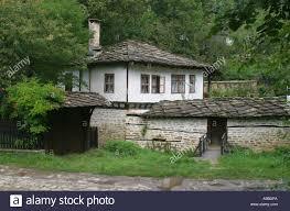 hous old traditional hous in village bojenci bulgaria stock photo