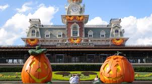 halloween 2014 magic kingdom decoration tour ambient sound