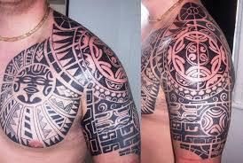 tribal arm designs sophisticated tribal shoulder