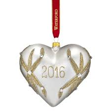 waterford lismore our ornament 2016 silver