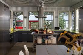 Kitchen With Glass Tile Backsplash Furniture Colorful Kitchen Accessories Blue Glass Tile