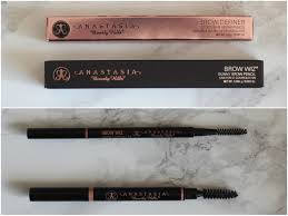 Eyebrow Powder Vs Pencil Obsessed By Beauty Anastasia Beverly Hils Brow Wiz Vs Brow Definer