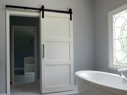 modern barn door bath the holland unusual style of modern barn
