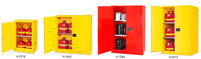 Yellow Flammable Storage Cabinet Safety Cabinets Chemical Storage Cabinets In Stock Uline