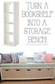Hallway Storage Bench 2 Seat Best 25 Kallax Window Seat Ideas On Pinterest Diy Storage Seat