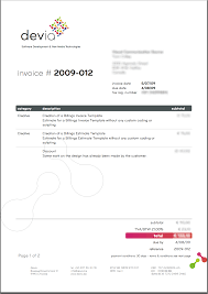 graphic design invoice template free business template