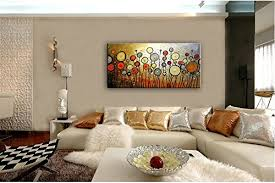 Canvas Home Decor Buy Santin Art Large Size Jubilation Hand Made Abstract Oil