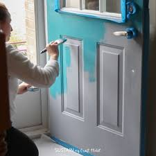 how to paint the front door how to paint a front door for added curb appeal sustain my craft