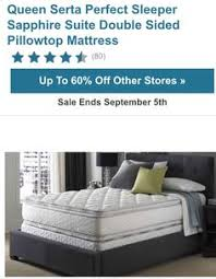 serta mattress perfect sleeper hotel sapphire suite double sided