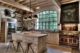 Country Kitchen Ceiling Lights Rustic Country Kitchen Decor Floating White Cabinet Mirror Door