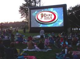 movie screen rentals fairy tale productions