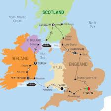 map uk harrogate go travel co za britain and ireland highlights 8 days 2
