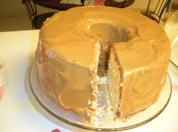aunt stine u0027s pound cake with caramel frosting aj the foodie