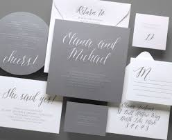 and white wedding invitations kleinfeld paper