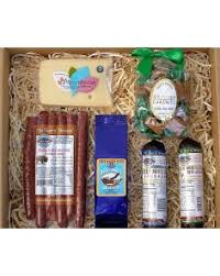 summer sausage gift basket montana specialty food gift boxes baskets belgrade mt