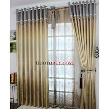 fabulous gold energy saving curtains with printed embossed