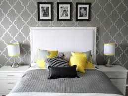bedroom retro gray yellow master bedroom redo yellow and grey