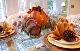 How To Set A Casual Table by Setting A Table For Thanksgiving Dinner My Web Value