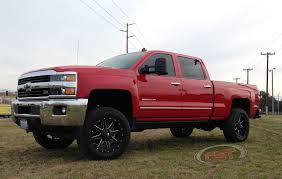 lifted gmc 2015 s t l high clearance lift kit 2011 2018 gm 2500hd 3 6