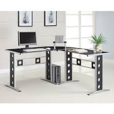 Small Contemporary Desks Coaster Contemporary Computer Desk Walmart