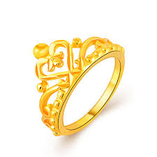 king gold rings images Fashion vacuum king queen prince crown ring yellow gold ring for jpg