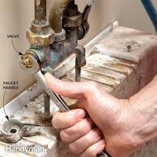 How To Fix A Water Faucet Fix A Leaking Faucet Family Handyman