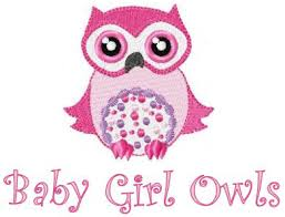 baby owls machine embroidery designs