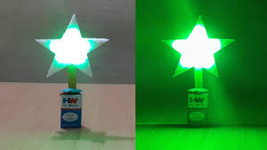 how to make a simple diy led christmas star very easy youtube
