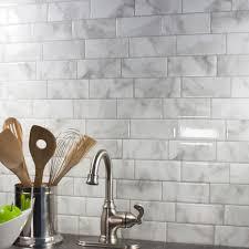 Credence Autocollante Cuisine Peel And Stick Kitchen Backsplash Smart Tiles