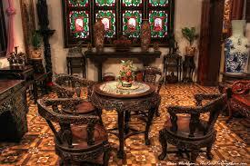 Table Lamp Malaysia Penang Pinang Peranakan Mansion Antique Table And Chairs Penang