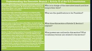 lesson 16 articles i ii iii of the u s constitution ss 7 c 3 3